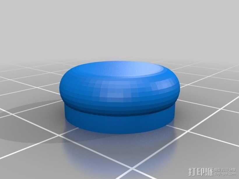 安全带扣子 3D模型  图3