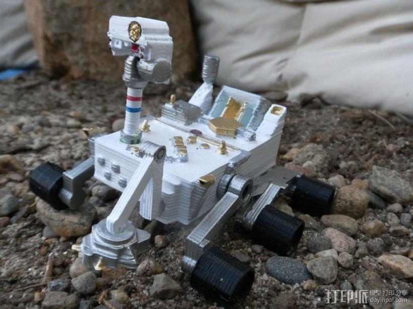 火星好奇者号 3D模型  图1
