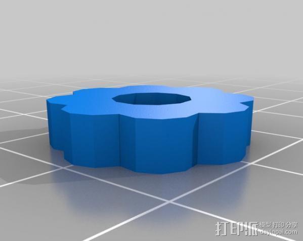 开源透镜架 3D模型  图3