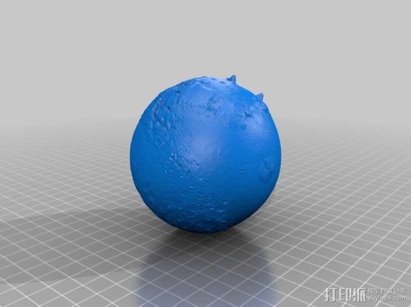 火星星球  3D模型  图1