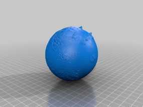 火星星球  3D模型
