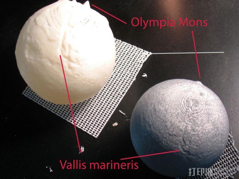 火星星球  3D模型  图2