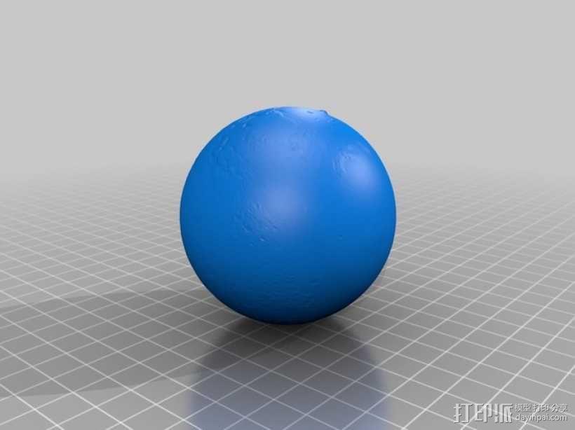 火星星球  3D模型  图3