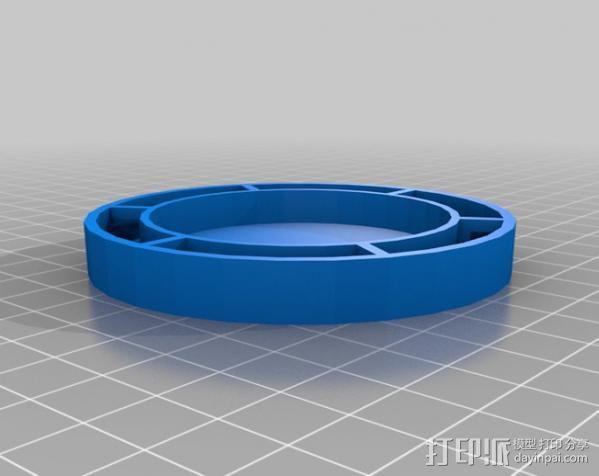 红牛功能饮料发射器底座 3D模型  图2