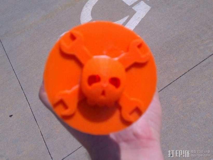 红牛功能饮料发射器底座 3D模型  图5