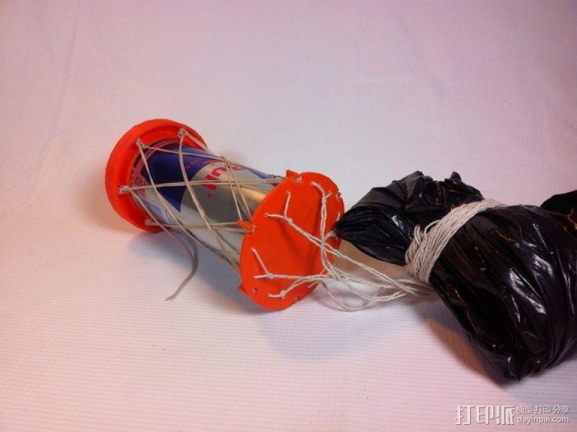 红牛功能饮料发射器底座 3D模型  图6