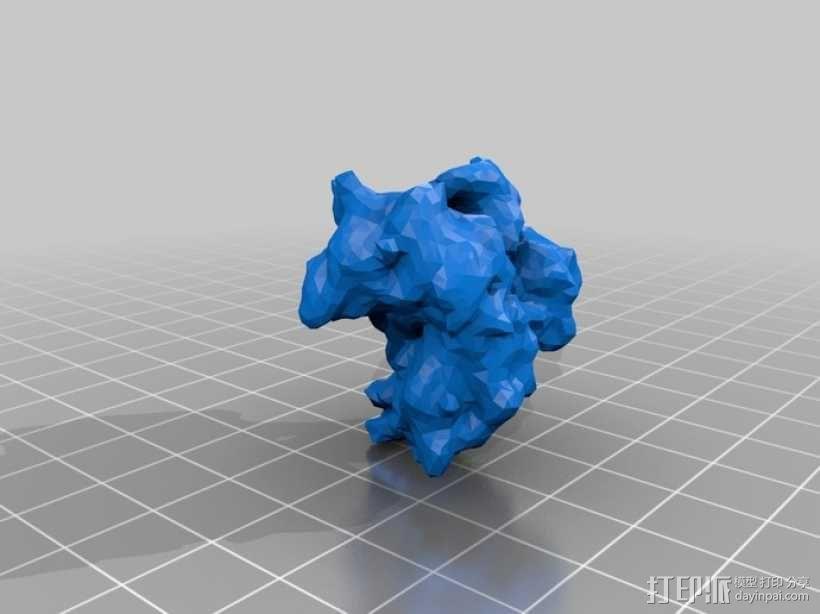 拓扑异构酶  3D模型  图1
