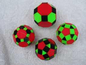 三色阿基米得多面体 3D模型