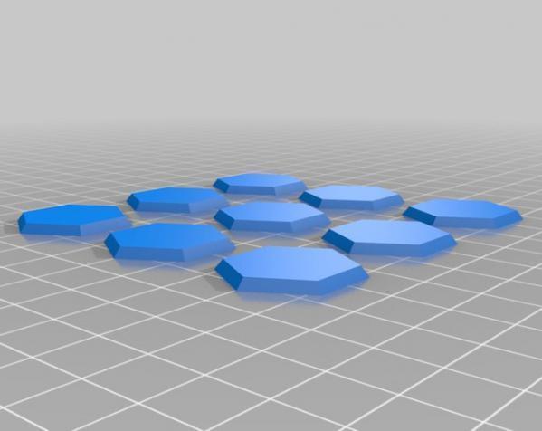 三色阿基米得多面体 3D模型  图6