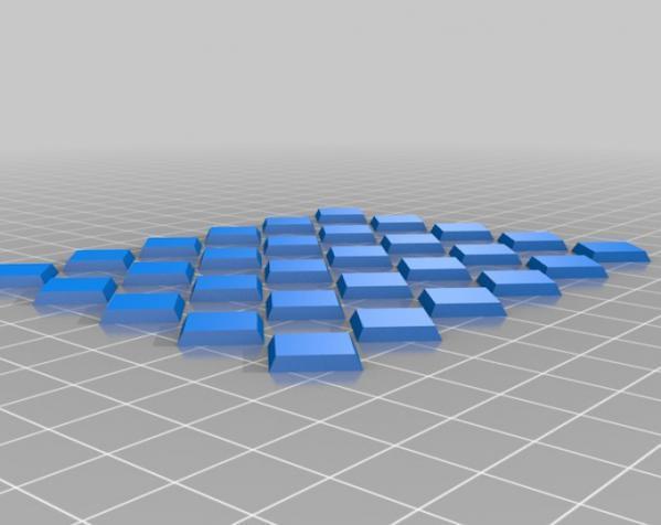 三色阿基米得多面体 3D模型  图7