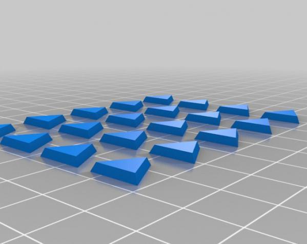 三色阿基米得多面体 3D模型  图10
