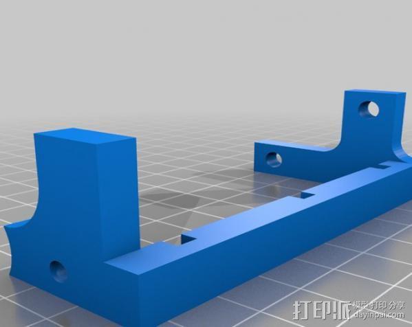 三位数机电计数器 3D模型  图1