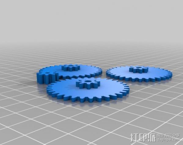 MakerBot发电机 3D模型  图1