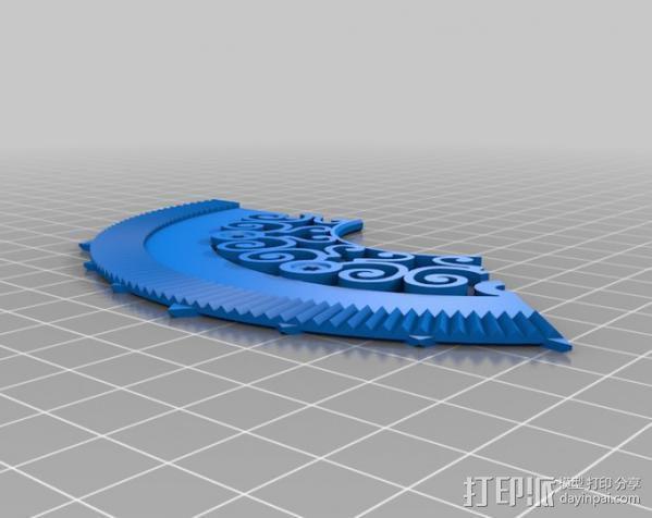 谐波变压器 3D模型  图16