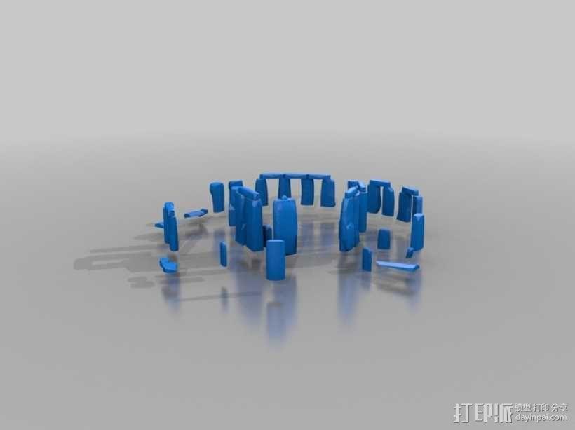 巨石阵 3D模型  图1