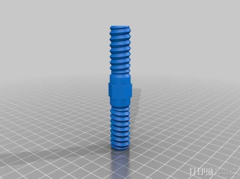 螺母 螺丝 3D模型  图4