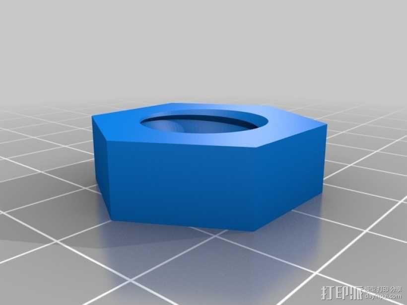 螺母 螺丝 3D模型  图5