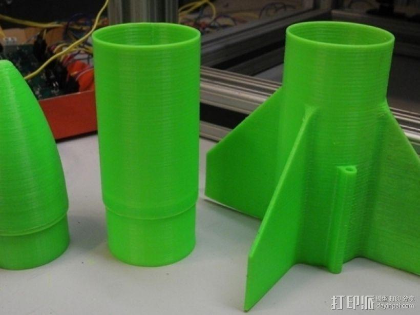 模块化火箭 3D模型  图5