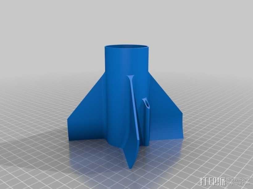 模块化火箭 3D模型  图14