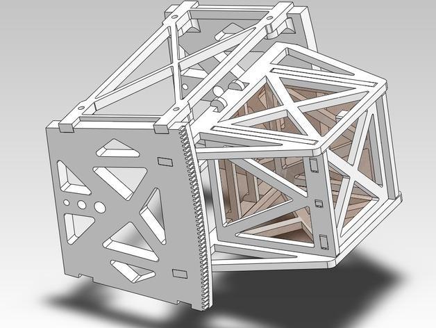 扶轮水培装置 3D模型  图3