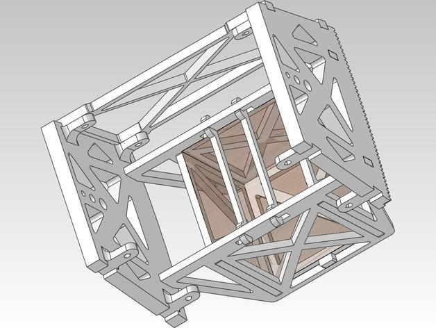 扶轮水培装置 3D模型  图4