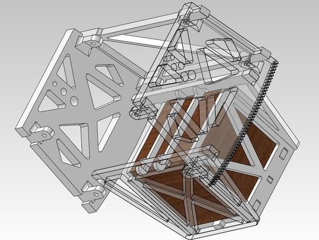 扶轮水培装置 3D模型  图5