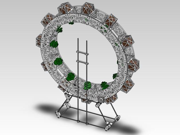扶轮水培装置 3D模型  图14