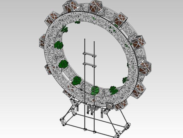 扶轮水培装置 3D模型  图22