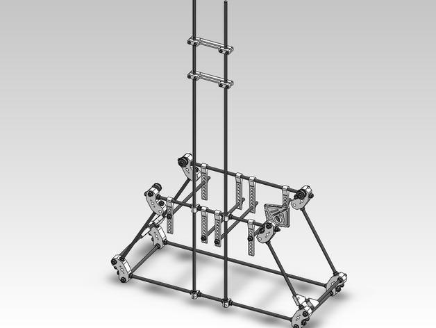 扶轮水培装置 3D模型  图40