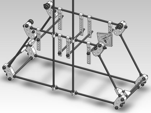 扶轮水培装置 3D模型  图41