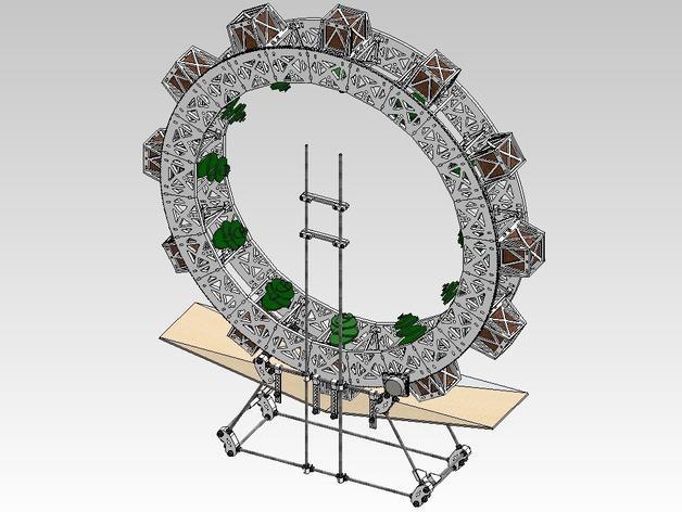 扶轮水培装置 3D模型  图45