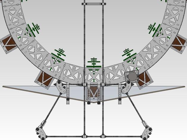 扶轮水培装置 3D模型  图46