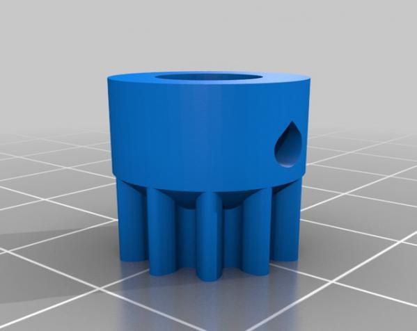 扶轮水培装置 3D模型  图52