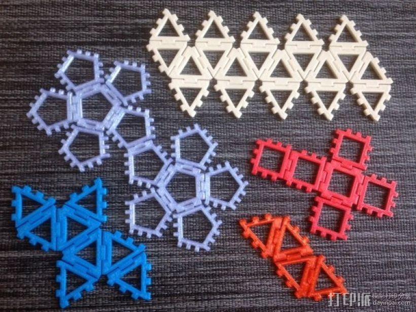 铰链多面体 3D模型  图1