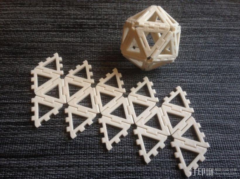 铰链多面体 3D模型  图3