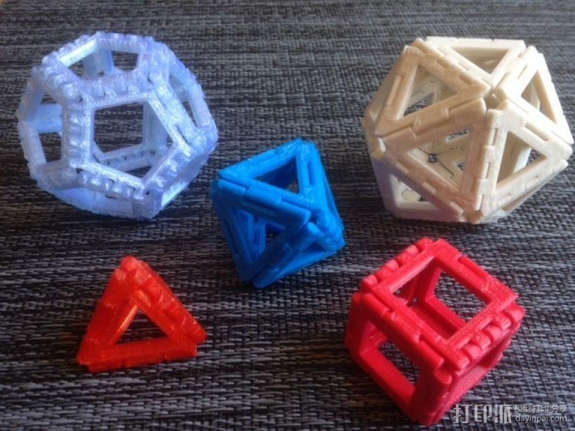 铰链多面体 3D模型  图2