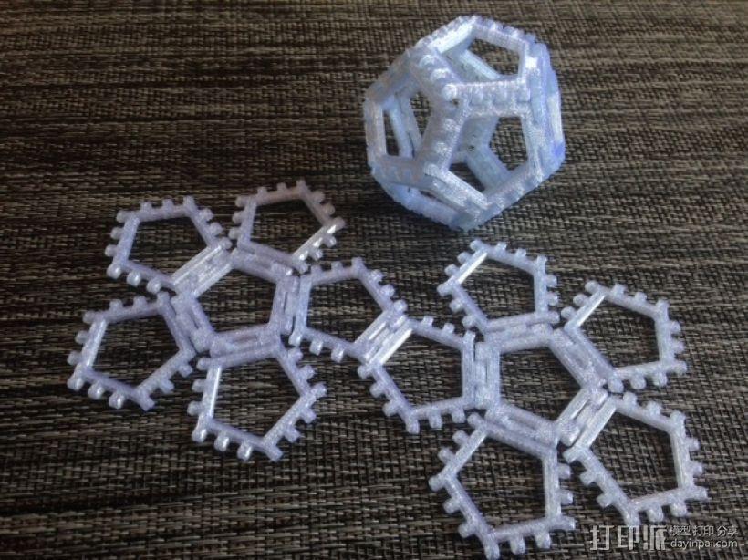 铰链多面体 3D模型  图4