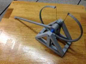 达芬奇 弹射器 3D模型