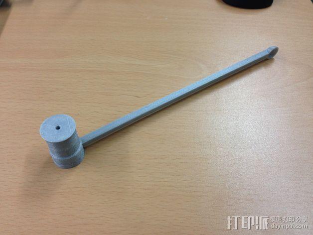 达芬奇 弹射器 3D模型  图6
