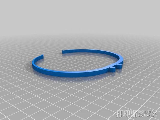 达芬奇 弹射器 3D模型  图7