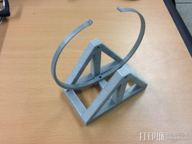 达芬奇 弹射器 3D模型  图5
