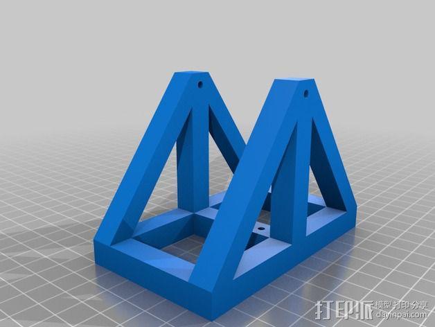 达芬奇 弹射器 3D模型  图10