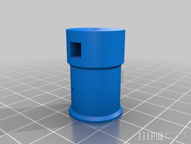 达芬奇 弹射器 3D模型  图8