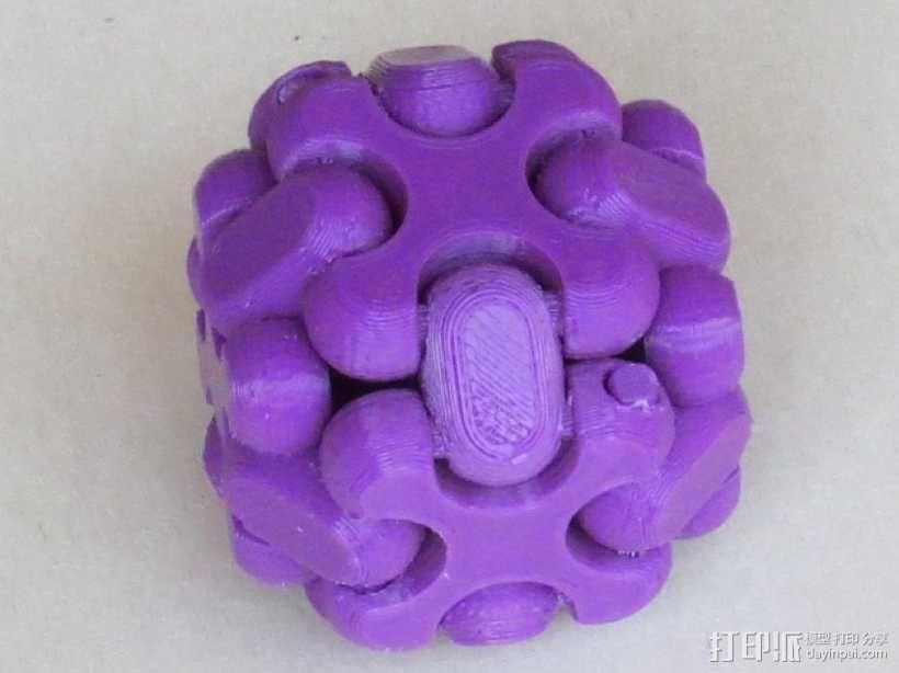 可折叠方块 3D模型  图1