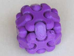 可折叠方块 3D模型