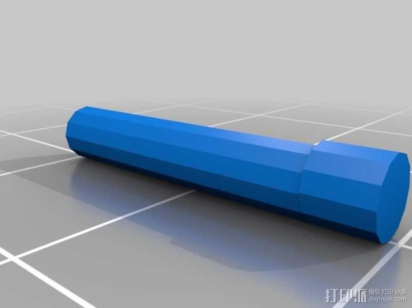 可折叠方块 3D模型  图4