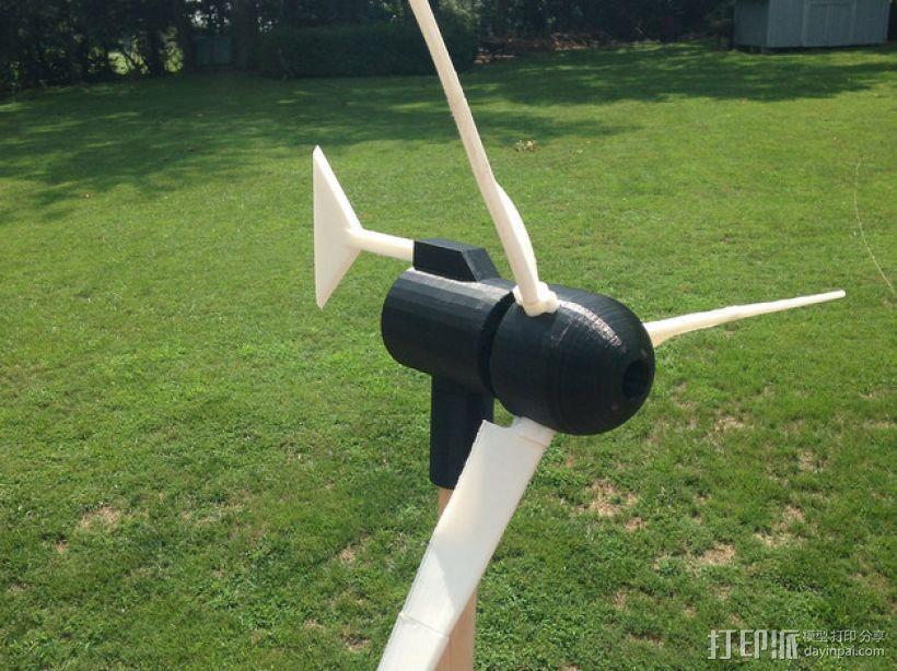 小风车 3D模型  图1