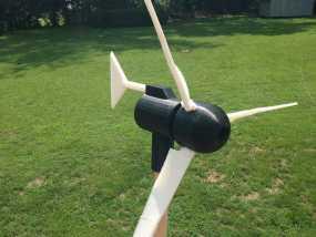 小风车 3D模型