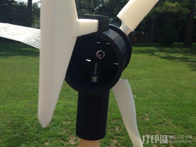 小风车 3D模型  图4