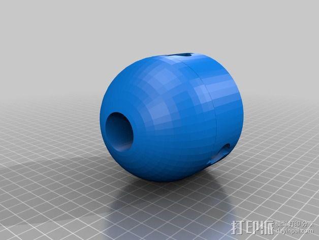 小风车 3D模型  图6